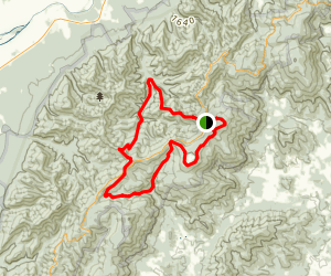 Big Run, Doyles River, and Frazier Loop Map