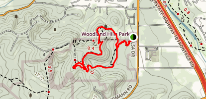 Main Loop and Juniper Trail Map