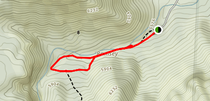 Ramsey Canyon Trail Map