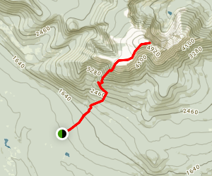 Abol Trail Map