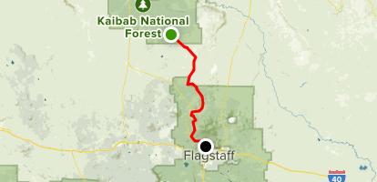 Stage Coach Route Grand Canyon To Flagstaff Arizona Alltrails - Grand-canyon-on-a-us-map