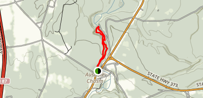 Ausable Chasm Map