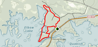 Bait Hole Loop Trail Map