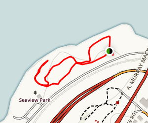 Seaview Park Trail  Map