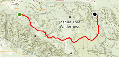 California Riding and Hiking Trail Map