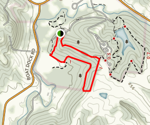Cedar Run Trail Map