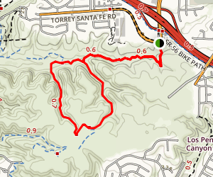 Main Tunnels Loop Via Deer Creek Trail Map