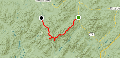 Great Range Traverse Map