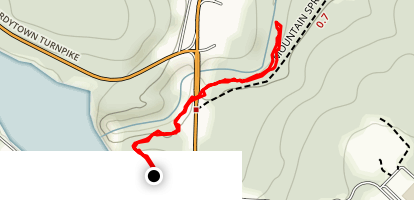 Wallenpaupack Creek Trail Map
