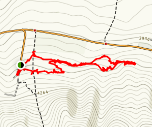 Ata Beyit Sledding Hill Loop Map