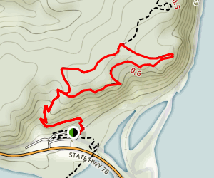 Effigy Mounds Hill Loop Map