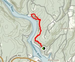 Pomperaug Trail  Map