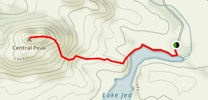Central Peak Trail Map
