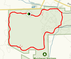 Muirhead Springs Loop Map