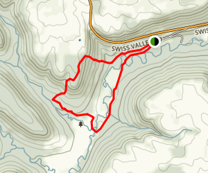 Swiss Valley Nature Preserve Loop Map