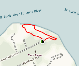 Twin Rivers Park Loop Map