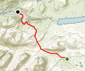 West Highland Way: Kingshouse to Kinlochleven Map