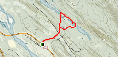 Valley of the Five Lakes Map