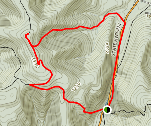 Hunter Mountain Loop via Devil's Path Map