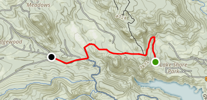 North Gross Jeep Trail: Road 68 Map
