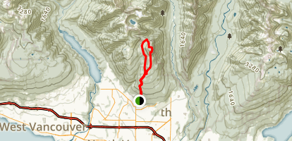 Mount Fromme Trail Loop Map