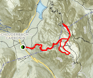 Mount Piano Trail Map
