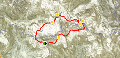 Paternkofel Map