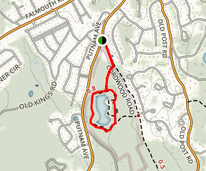 Eagle Pond Trail Map