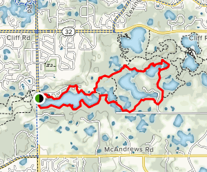 Lebanon Hills Loop Map