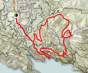 Mont Puget and Sugiton Map