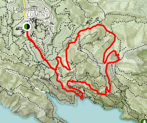 Mount Puget and Sugiton Loop Map