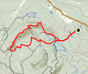 Boulder Trail to North Mountain Trail Loop Map