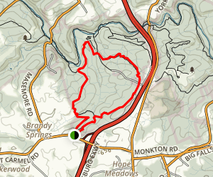 Mingo Forks Trail Loop Map