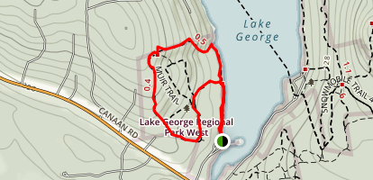 Podoc Trail to Foster Hill Trail Map