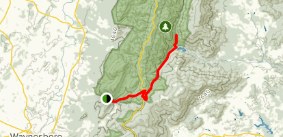 Barking Dogs and Jarman Gap Map