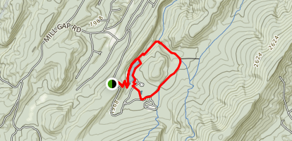 Trout Pond Loop Map