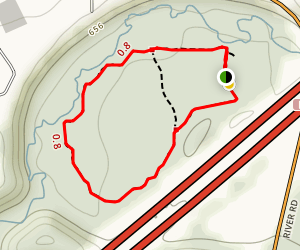 Gully Brook Valley Trail Map
