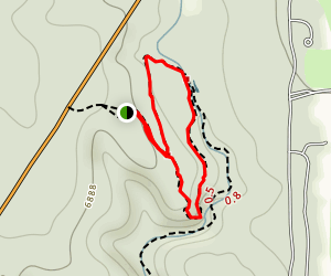 Griffith Spring Trail Map