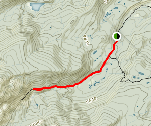 Rock Creek to Boss Mine Map