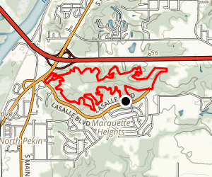 Independence Park Loop Trail Map