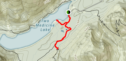 Paradise Point and Aster Park Map