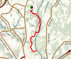 Cape Fear River Trail Map