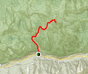 Mount Yale Summit Trail Map