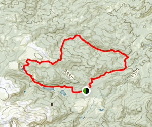 Beaver Creek to Fish Creek Loop Map