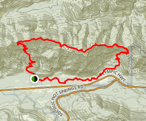 Mount Muller Trail Map
