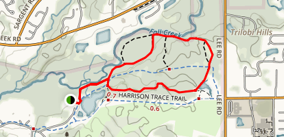 Fall Creek Trail Map