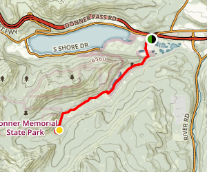 Lost Trail Lodge Map