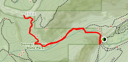 Emigrant Canyon Map