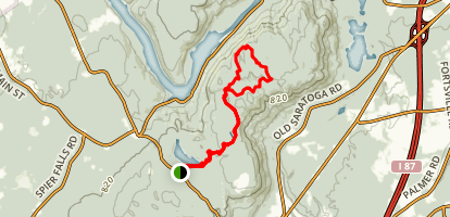 Lake Bonita to Lake Ann and Grant Mountain Map