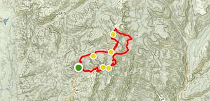 Santa Fe Baldy Loop Map